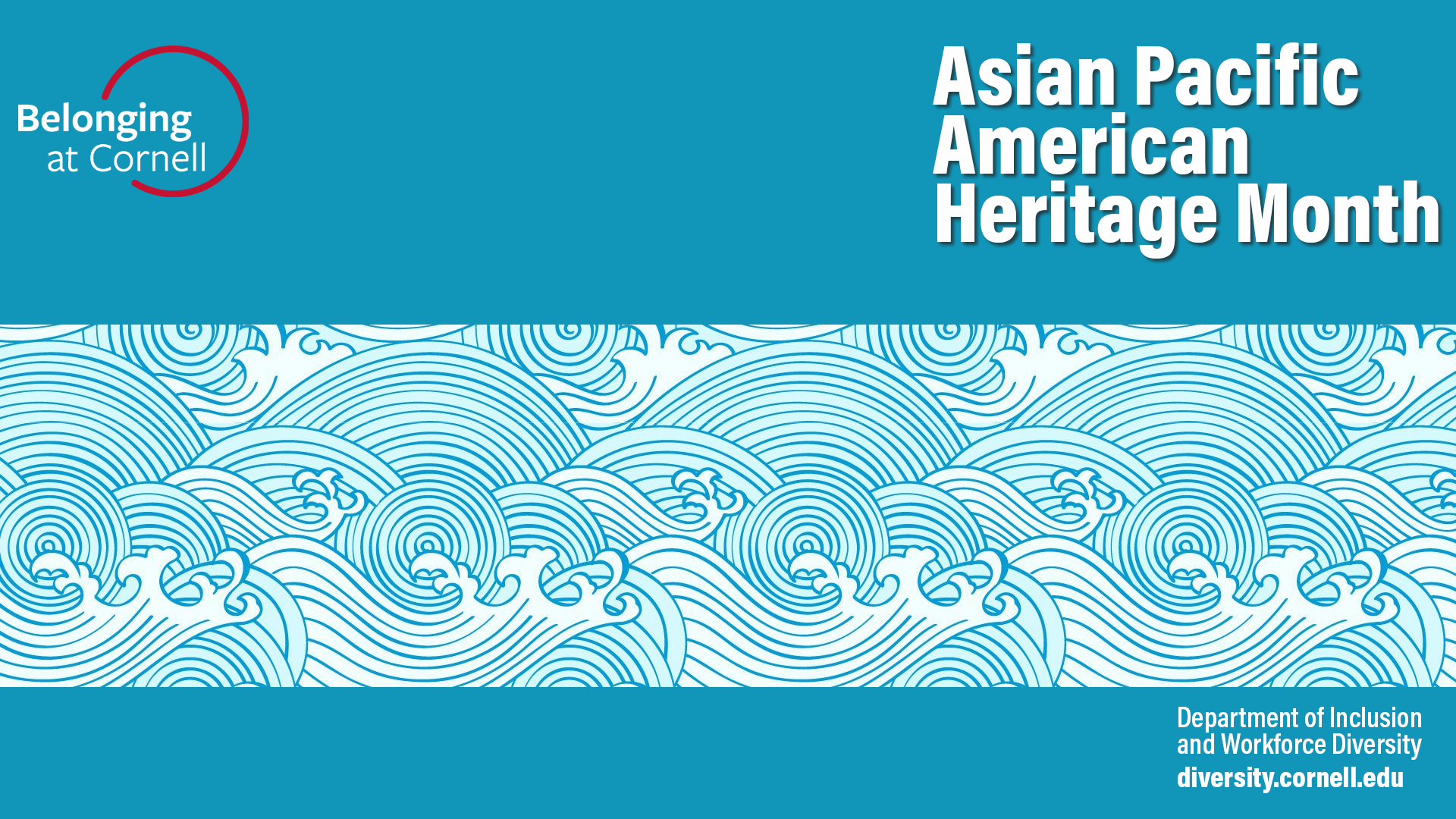 Zoom Background (plain) visual in honor of Asian Pacific American Heritage Month
